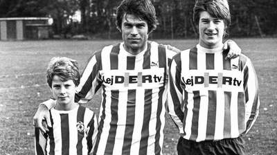 Footballer Michael Laudrup: biography, family and photos