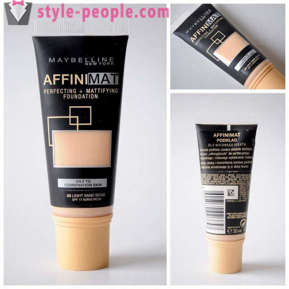 Creams Maybelline Affinitone: description, reviews