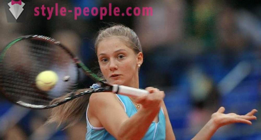 Anna Chakvetadze, a Russian tennis player: biography, personal life, sports achievements
