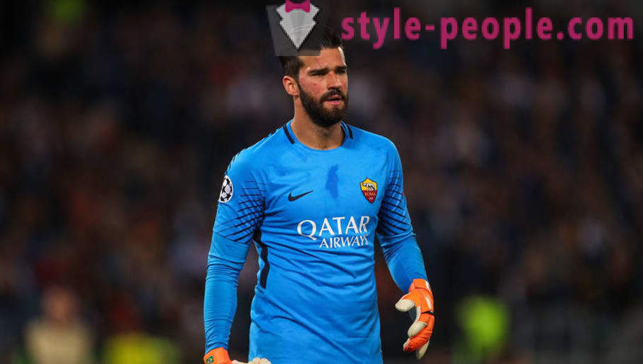 Footballer Alisson Becker: the most expensive goalkeeper in the history of world football
