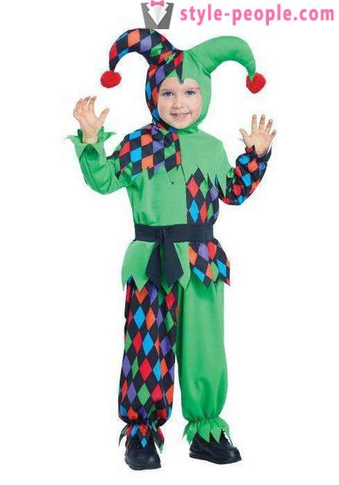 How to make a clown suit with their own hands?