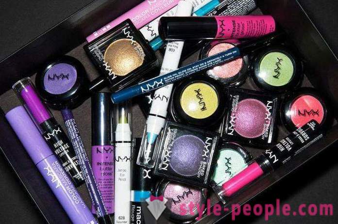 NYX Cosmetics: the means of feedback to make-apa from the