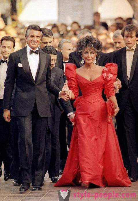 Original red dresses on the red carpet