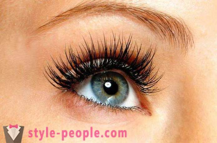 Consequences of eyelash extensions. How to restore lashes after building