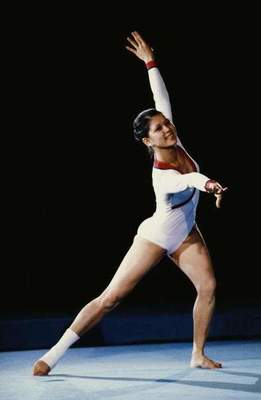 Nellie Kim: legendary gymnast from Shymkent