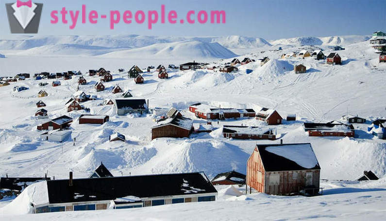 The most extreme of the Earth populated place