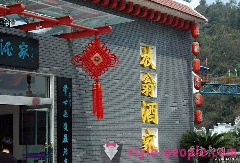 Fanven: Chinese restaurant over the precipice