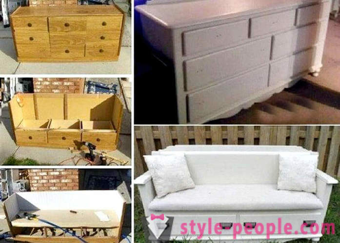 Old furniture in a new way