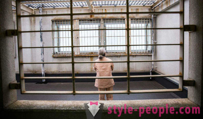 Older Japanese people tend to a local prison