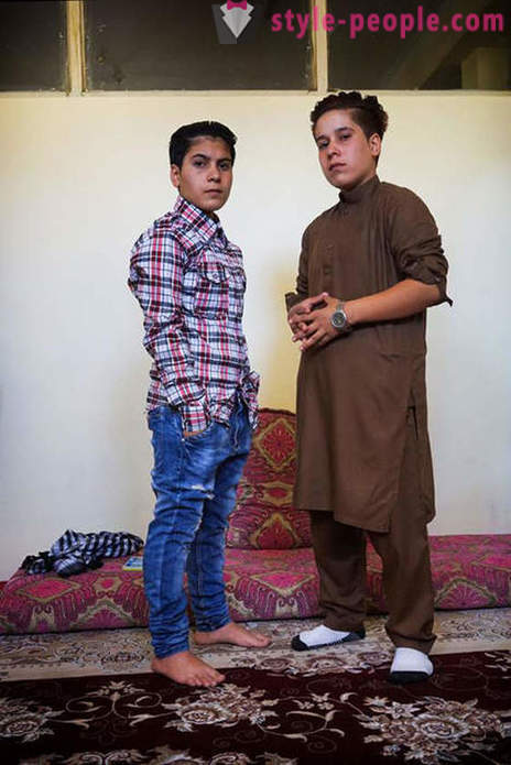 Why are raised as boys in Afghanistan, some girls