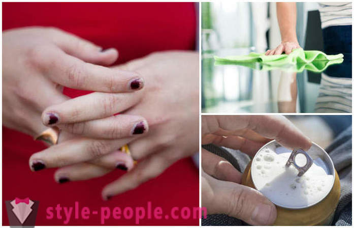 Daily habits that damage our nails