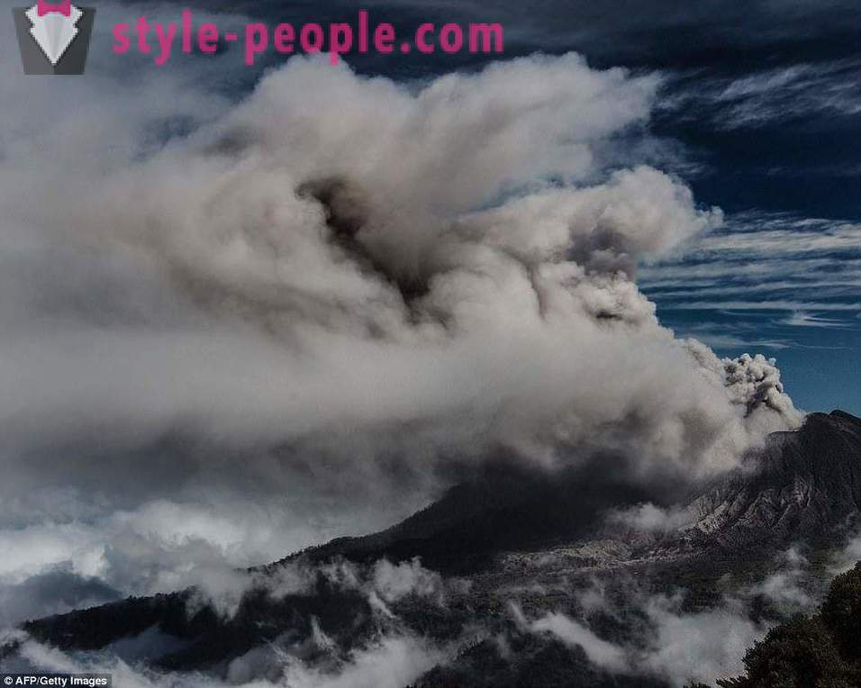 Spectacular volcanoes of recent years