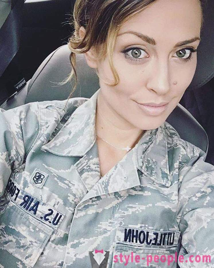 Kerissa Littlejohn - members of the US Air Force, which is a professional model, and has a master's degree