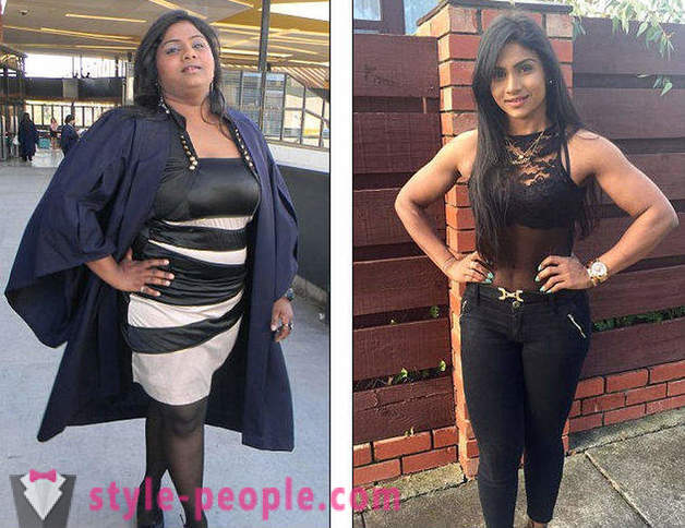A nurse from Melbourne she lost 42 kg after I saw your photo on Facebook
