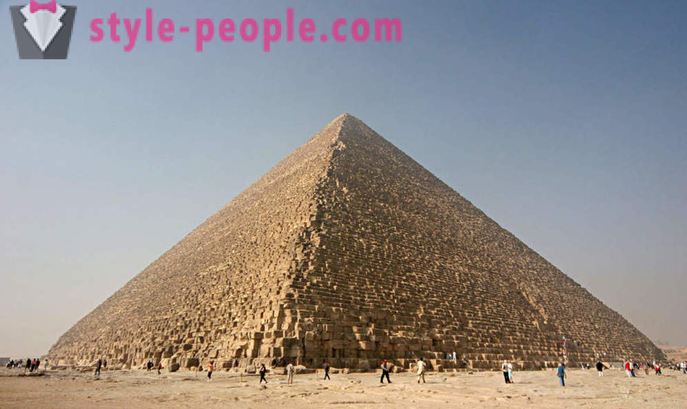 Where in fact pyramids in Egypt