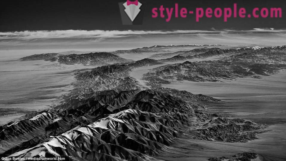 The world as you've never seen: aerial photography in the infrared range