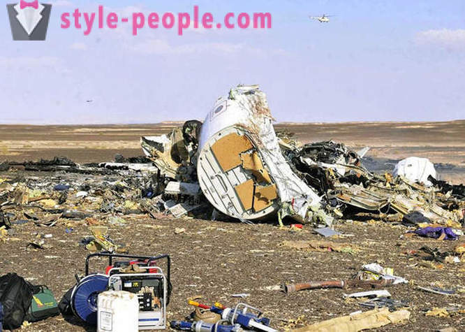 The reasons for the disaster of the Russian passenger aircraft Airbus 321
