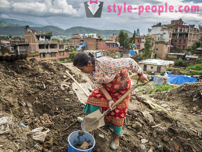 Nepal 4 months after the disaster