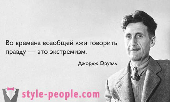 25 prophetic quotes George Orwell