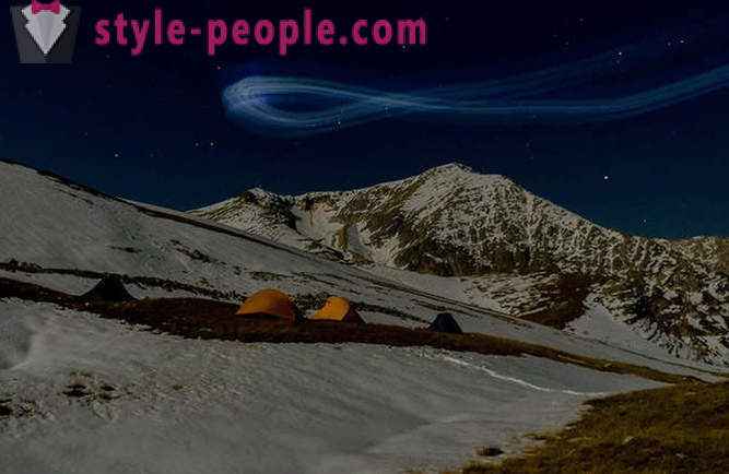 Travel through the mountains of the Caucasus