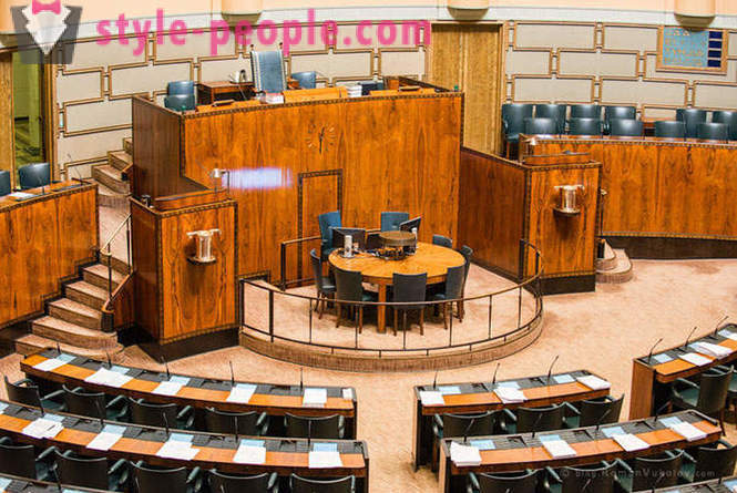 Tour of the Parliament of Finland