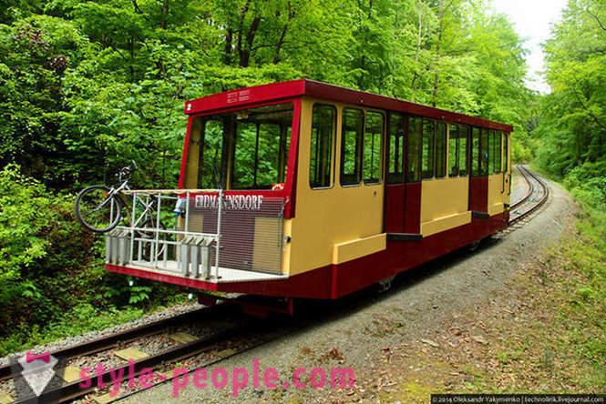 Journey Forest cable car and cities in Saxony