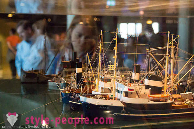 Tour of the museum the only ship of the XVII century