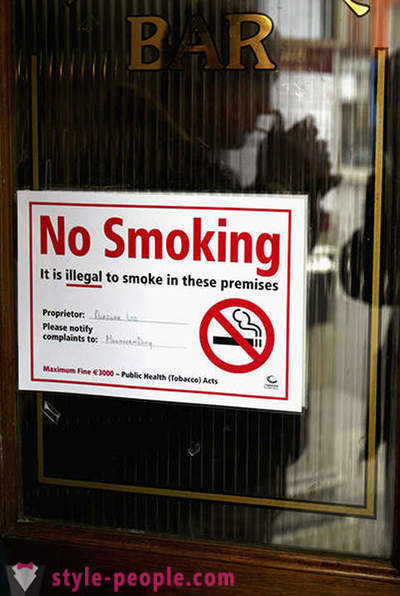 10 countries with the most stringent anti-smoking law