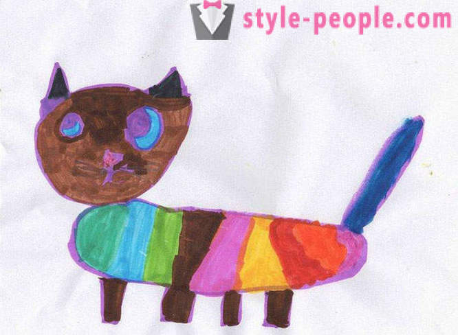 Soft toys made by children's drawings