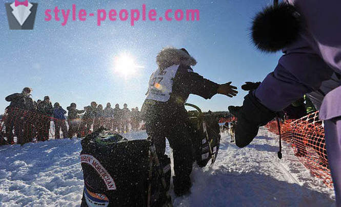 Sled Dog Race 2012 Iditarod