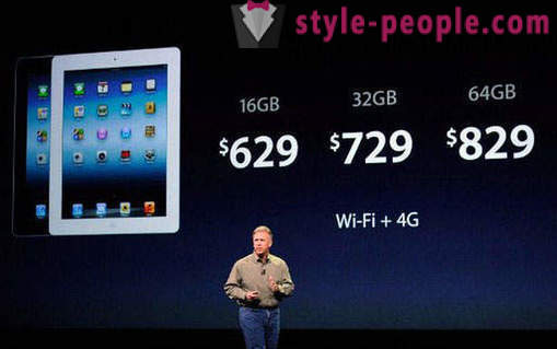 Apple introduced the new iPad