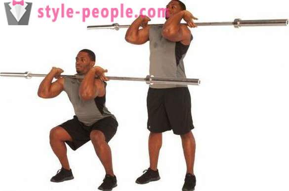 What a barbell exercise at home is most effective?