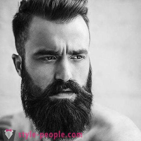 Beard styles. How to choose the type of face shape beards