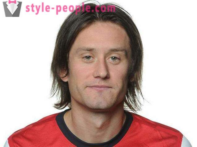 Tomas Rosicky - football team of the Czech Republic