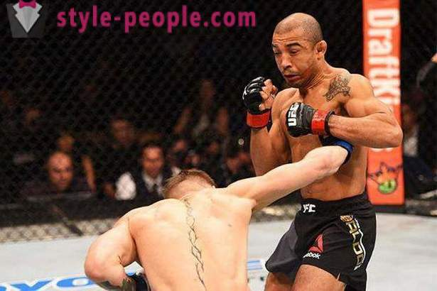 Jose Aldo: weight, height, photo