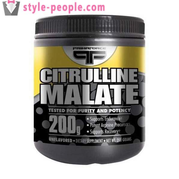 Citrulline malate: application to eliminate fatigue
