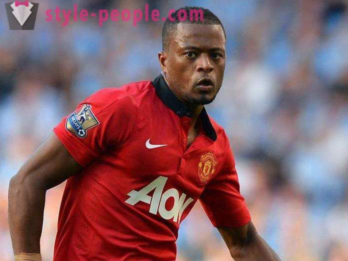 Patrice Evra: athletic career growth