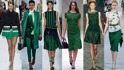 Color Emerald: what properly combine clothes