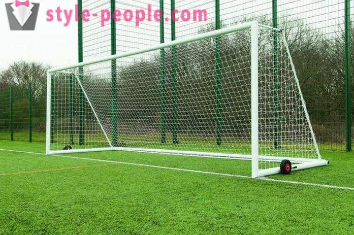 What is the size of a football goal standard