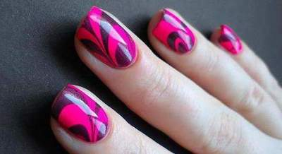 Unusual manicure at home (photos)