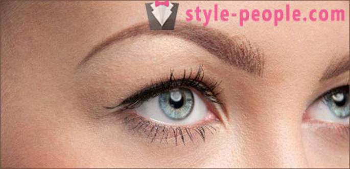Eyebrows for oval face (photo). What eyebrows suitable for oval face?