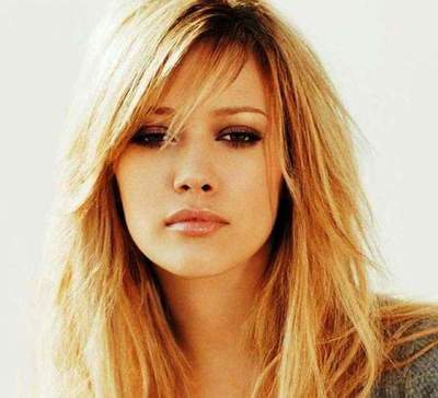 Jagged bangs - a great way to change your image