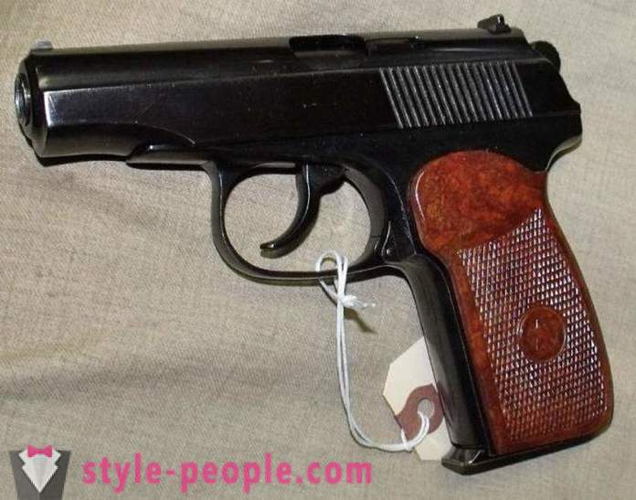 Gun PM (Makarov) pneumatic: specifications and photos