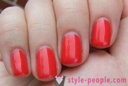Covering nail gel polish: step by step instructions with photos