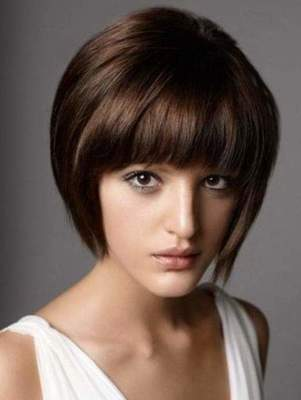 Straight bangs - a classic for all times. Haircuts and hairstyles with straight bangs