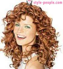 Chemistry on long hair: light, vertical or large curls. Hair before and after a perm