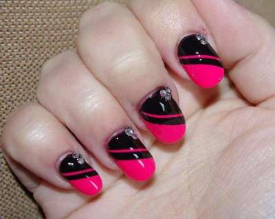 Nail design at home: Step by step instructions. Master class: a simple nail design with their own hands
