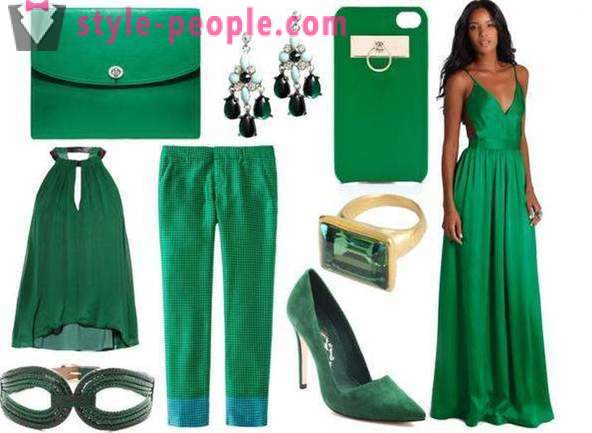 Green color blends with any clothes?