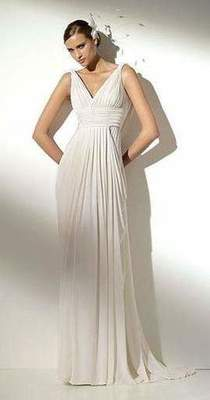 Wedding dresses in the Greek style, and not only