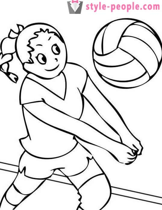 The basic rules of volleyball